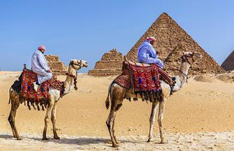 Pyramiden, Nil und Nassersee