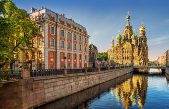 St. Petersburg, Moskau und Kasan