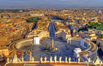 Rom ─ Pantheon, Petersdom und Paläste