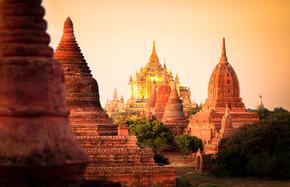 Meeresbrise und Myanmar