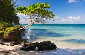 Meeresbrise und Dominikanische Republik