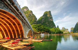 Historische Plätze in China