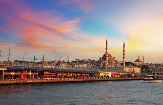 Istanbul ─ Stadt am Goldenen Horn