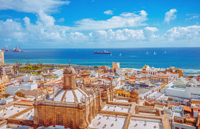 Meeresbrise und Gran Canaria
