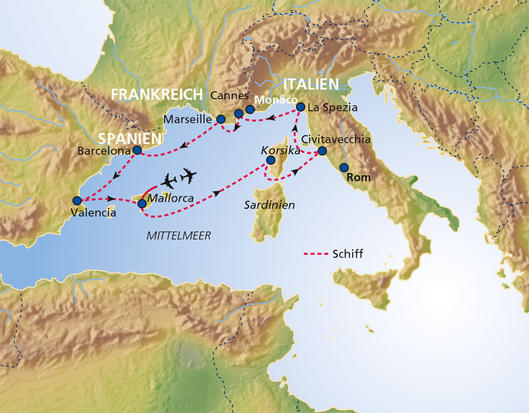 Route Map Zoom