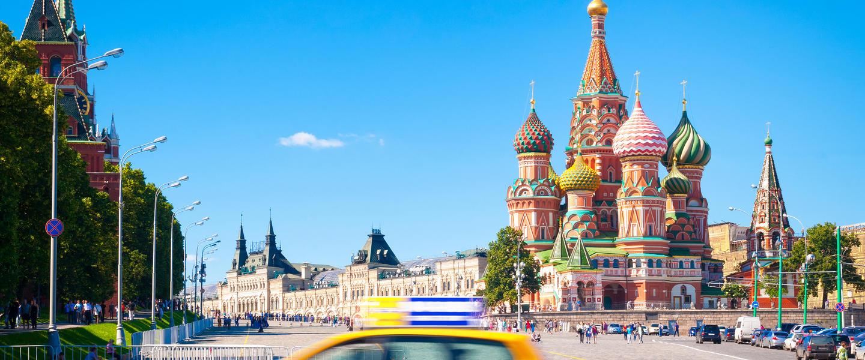 Moskau-die größte Stadt Europas