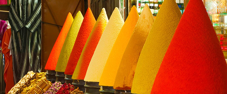 Farbenfrohes Marokko