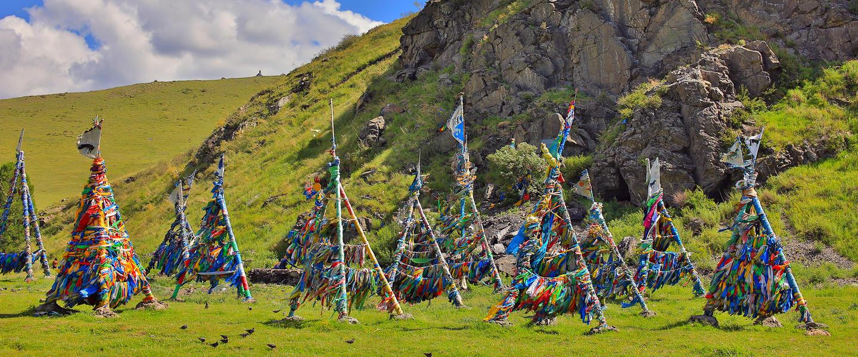Mongolei ─ unterwegs im Land der Nomaden