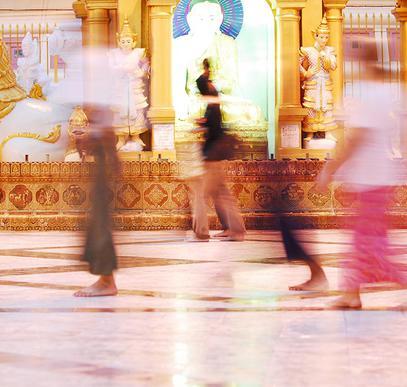 Myanmar ─ Auf den Wegen Buddhas bis ans Meer