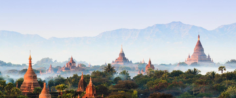 Myanmar ─ Golfen in Buddhas Garten