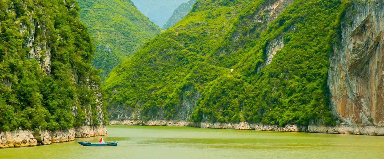 Wo China ein Gemälde ist