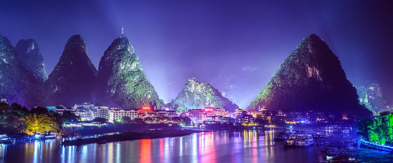 Die Höhepunkte Chinas