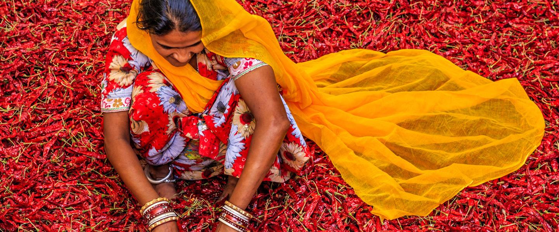 Farbenfrohes Südindien