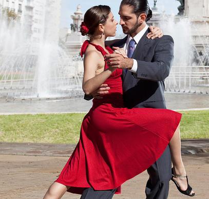 Tango, Samba und Meer