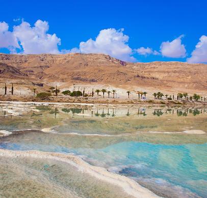 Israel ─ Krater, Wüste, Totes Meer