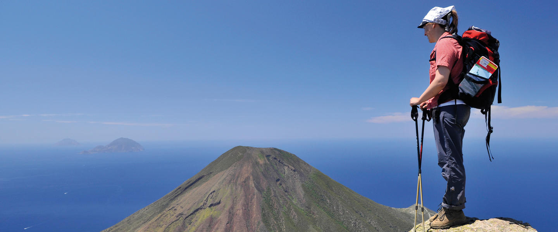 Wandern auf den Äolischen Inseln