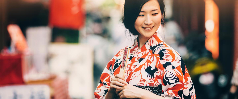 Farbenprächtiges Japan