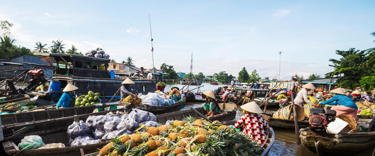 Entlang des Mekong durch Südostasien