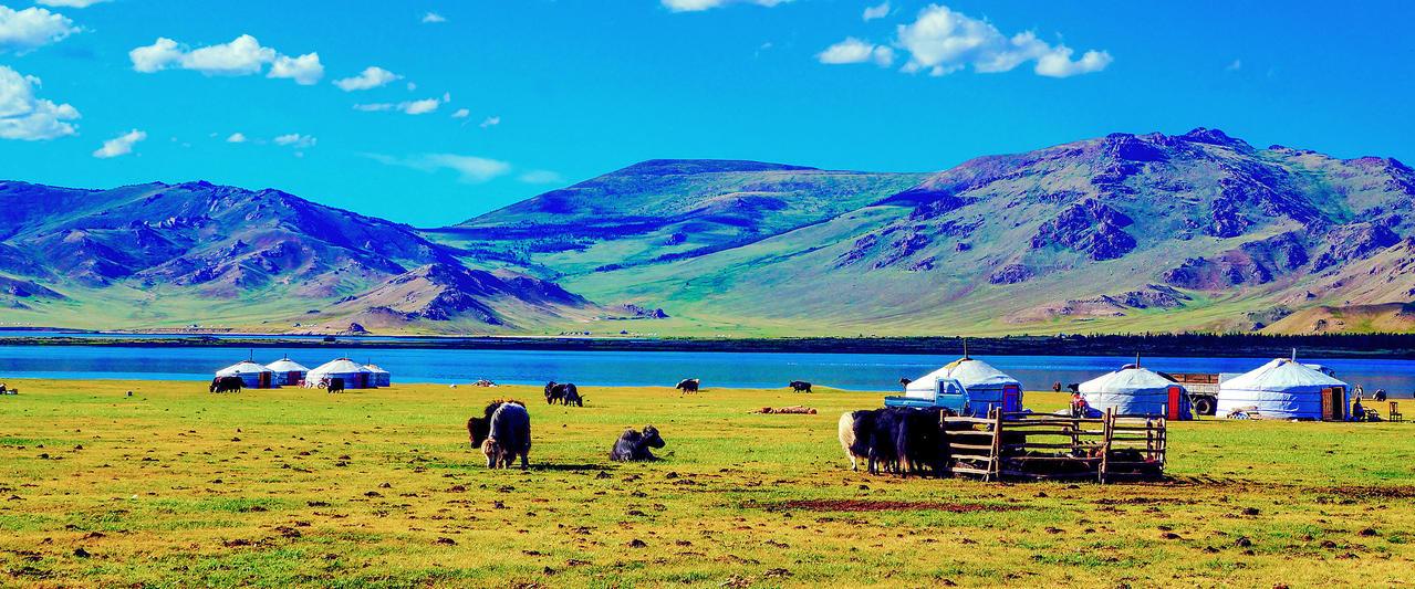 Mongolei ─ auf den Spuren des Dschingis Khan