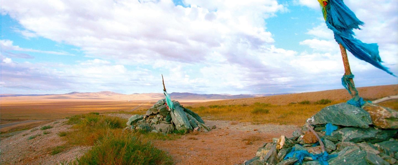 Zu den Nomaden im Land des blauen Himmels