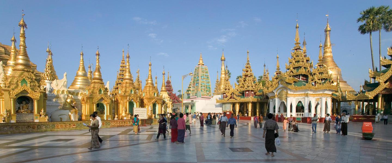 Myanmar ─ Ein Traum in Gold