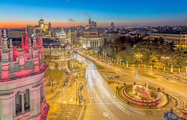 Pulsierendes Madrid