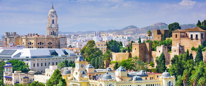 Lebensfrohes Málaga