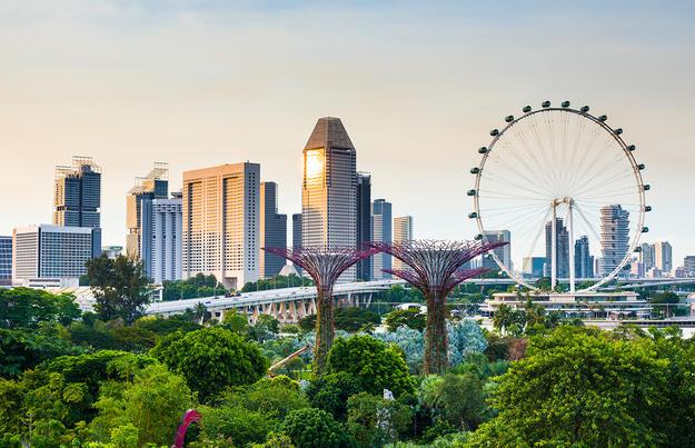 Meeresbrise und Singapur (15 + 4 Tage)