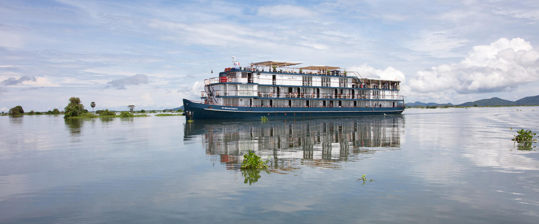 Auf dem Mekong ─ die Mutter aller Wasser