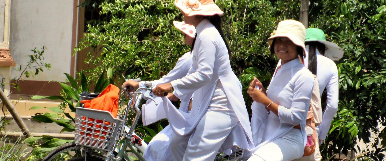 Vietnam per Rad und Rikscha