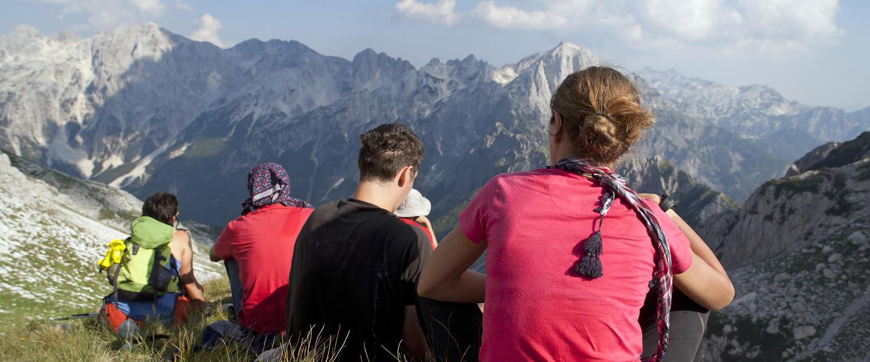 Wandern in den albanischen Alpen