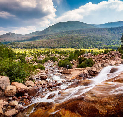 Rocky Mountains geruhsam