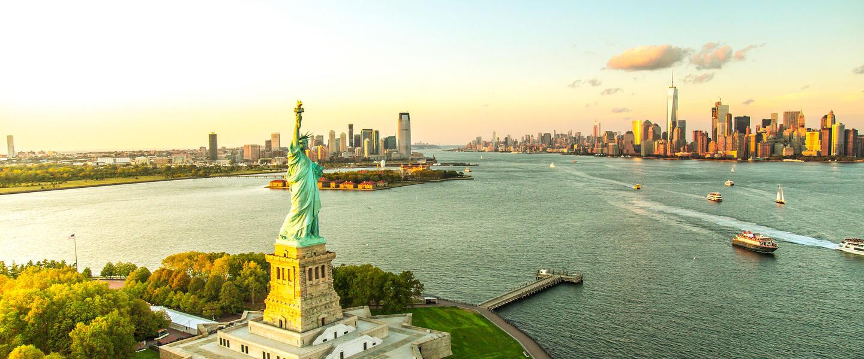 USA ─ Panorama von Ost nach West