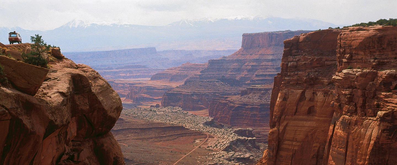 USA ─ Panorama von West nach Ost