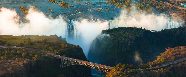 Victoria Falls...