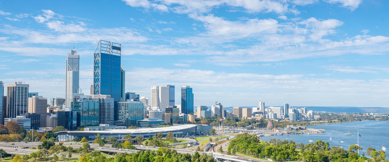 Perth ─ tief im Westen